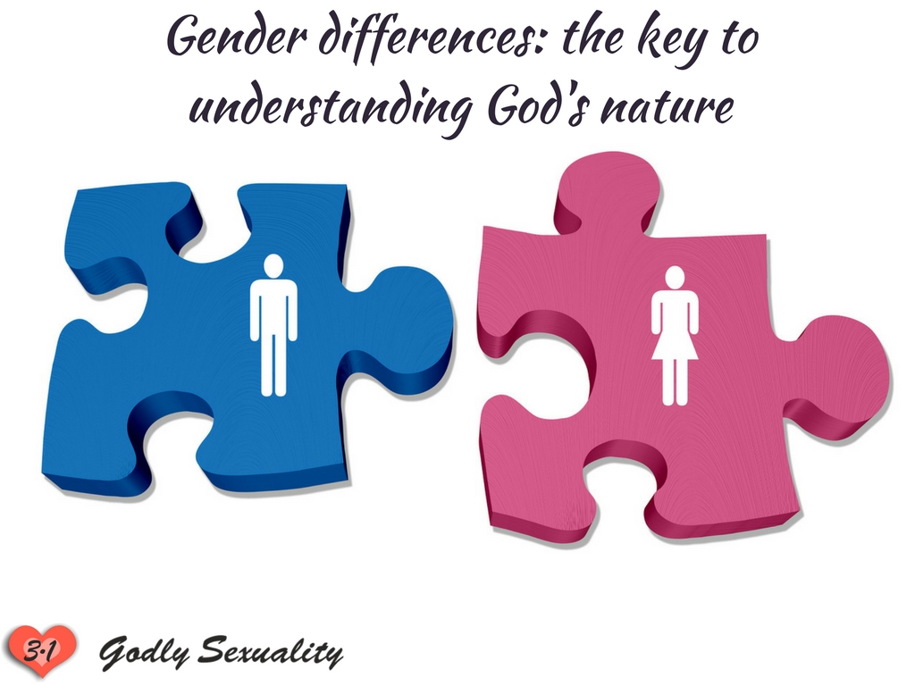 Gender differences the key to understanding God's nature (Godly Sexuality)