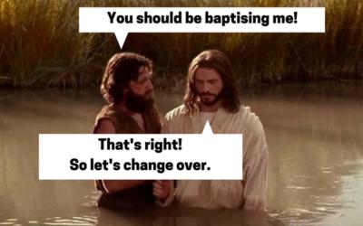Matt 3:13-17 The Baptism of John