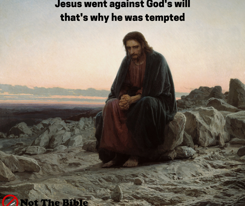 Matt 4:1 The temptation of Christ (Not the Bible)
