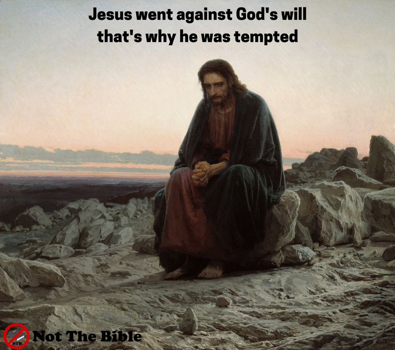 was jesus ever tempted
