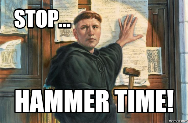 reformation day 4 37 of the best reformation500 memes (not the bible) john spencer