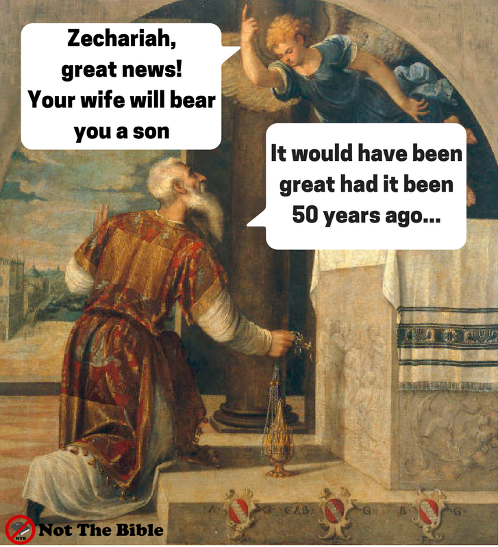 Zechariah and Gabriel (Not the Bible)