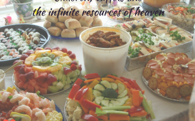 Children, buffets and the infinite resources of heaven (godly children)